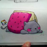 nyan really let himself go... by grizlyjerr