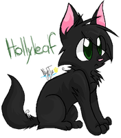 Hollyleaf by SnownightTheCat