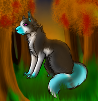 Autumn Air~ {Commission} by Moonliit-Dreams