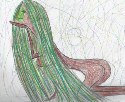 Weeping Willow Dryad by Maemouse