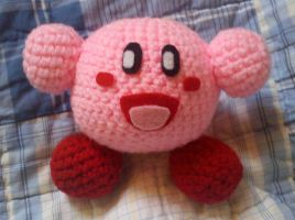 Another Kirby amigurumi by JusticeDude