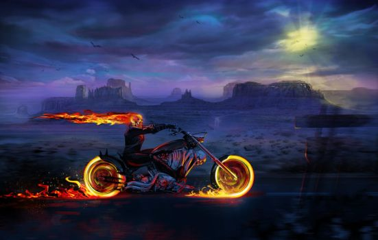 Ghost Rider by Deathfeniks