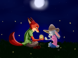 Zootopia - Nick and Judy by kosko99