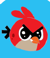 Red Angry Birds by Jessegc