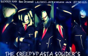 The Creepypasta Solider's by MrLaughingJack