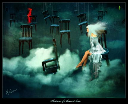 The dream of a thousand chairs by Luincir