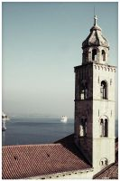 Church tower by roopi