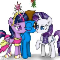 Under the Mistletoe by FinnishGirl97