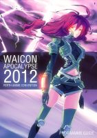Wai-Con 2012 and Beyond Mascot by minti-fresh