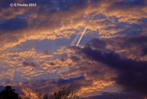 Turbulent SunSet Clouds 0005 4-17-15 by eyepilot13