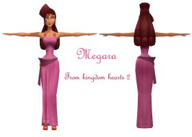 MMD Megara DL by 0-0-Alice-0-0