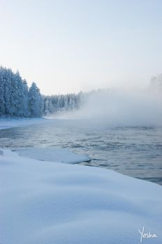Winterscape by YoshaPhotography