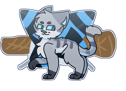 30 Days Warriors thing-Favorite Cat by Mcdraggy