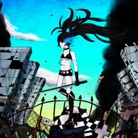 Black Rock Shooter by fallingblacksnow