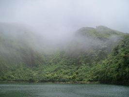 Cloud Forest Lake by austringer