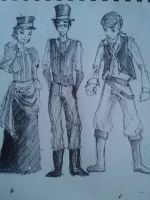 Treasure Planet: Steampunk'd by thebonga