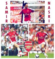 Samir Nasri by littlemiitha