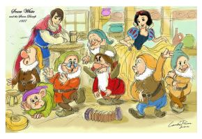 Snow White and the Seven Dwarfs (1937) by N-City