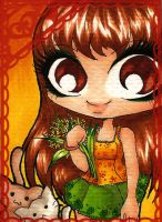 ACEO 71: Summer Light by Forunth