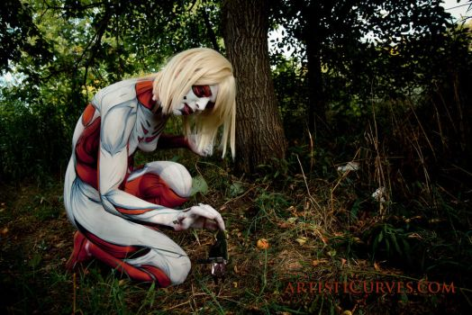 Annie Leonhardt- the Female Titan 11 by shelle-chii