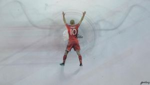 Arjen Robben by bluezest1997
