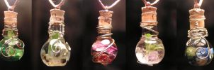 5 Elements Magic Vial Set by Izile