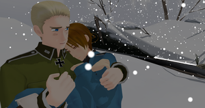 .:APH:. Caption This- It's So Cold by SaziSkylion