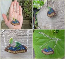 Guardians of the Galaxy Groot Necklace by Tsurera
