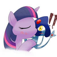 twilight sparkle  kiss by hoyeechun