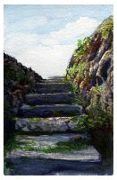Cliff Steps by twapa