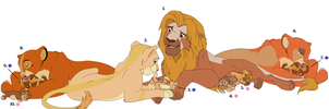 Lion Pride Adopts #2 ~ *OPEN* by Adopting-Angels