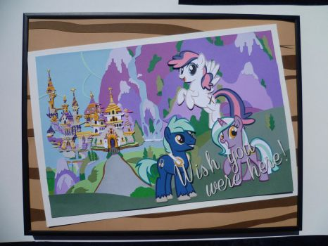 Papercraft - The Jewel of Equestria by JackOfMostTrades