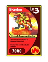 Bravleo Trading card by ObsidianWolf7