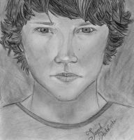 Jared Padalecki by an-opened-book