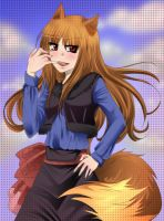 Spice and Wolf- Holo by HarukaNoTengoku