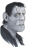 Frankenstein's Monster by Bulun