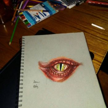 eye of a dragon by xprotector10