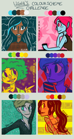 Color Scheme Challenge (Marvel Squad) by anakluxmos