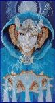 Queen of Cups Cross Stitch by RaNuit