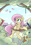 Canterlot Series - Fluttershy by SubjectNumber2394