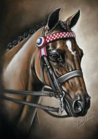 Pastel Drawing of Langtree Distinction by lalabellexx