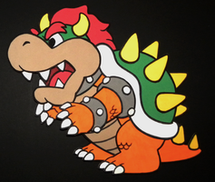 Foam Bowser by TouchFuzzyGetDizzy
