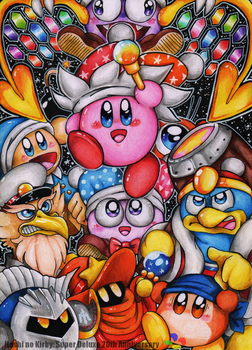 Hoshi no Kirby : Super Deluxe 20th Anniversary by Halgalaz