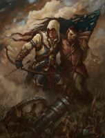Assassins Creed 3 Art Contest entry by GiddyGriffin