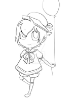 .: Lineart: Chibi Sailor Len :. by Yuna264