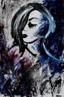 Abstract Girl 10 by dabaryan