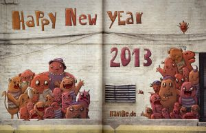 Happy 2013 by Iraville