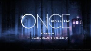 OUaT 'The Mad Man and his Blue Box' by GabittaMorgan