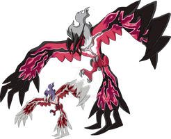717 - Yveltal (Active Forme) - Art v.4 by Tails19950