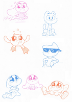 Gumball and Siblings by Joey-Darkmeat